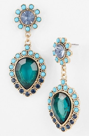 Robert Rose 'Drama Queen' Drop Earrings