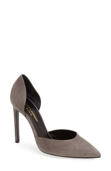 Saint Laurent d'Orsay Pointy Toe Pump
