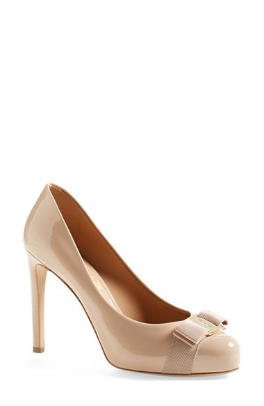 Salvatore Ferragamo 'Pimpa' Patent Leather Pump