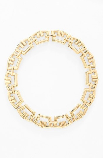 St. John Collection Tubular Link Necklace