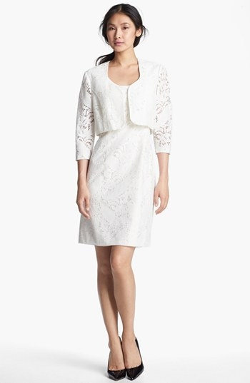 Tahari Lace Dress & Jacket