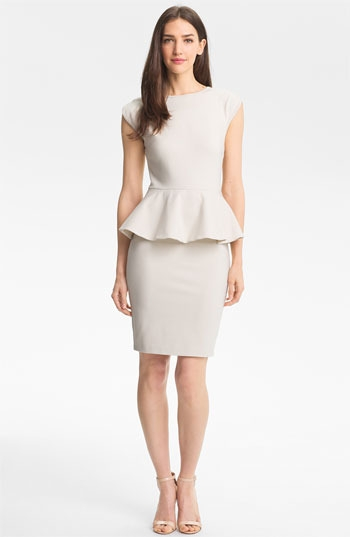 Ted Baker London Peplum Sheath Dress
