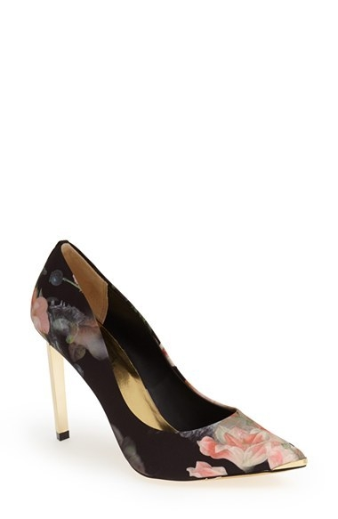Ted Baker London 'Saeber' Pointy Toe Pump (Women)
