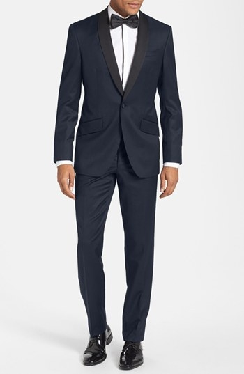 Ted Baker London Trim Fit Shawl Lapel Tuxedo