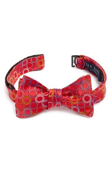 Ted Baker London Woven Silk Bow Tie