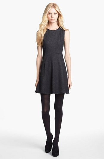 Theory 'Nikay' Stretch A-Line Dress