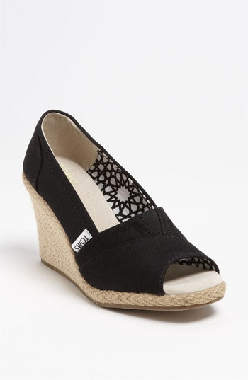 TOMS 'Calypso' Canvas Wedge