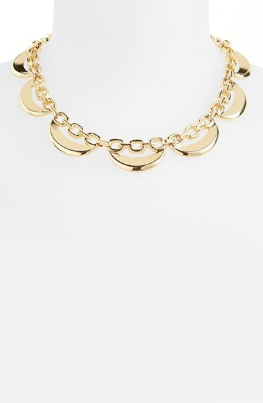 Topshop Crescent Collar Necklace