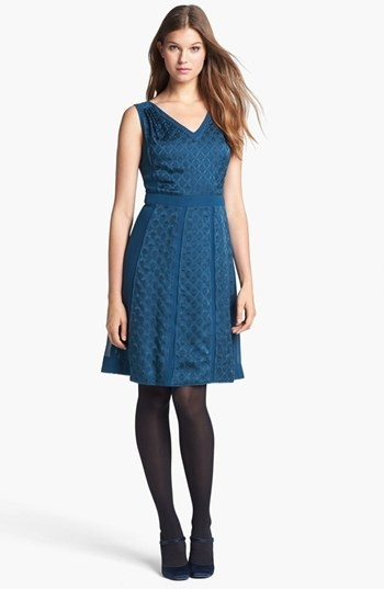Tory Burch 'Hadley' Silk A-Line Dress