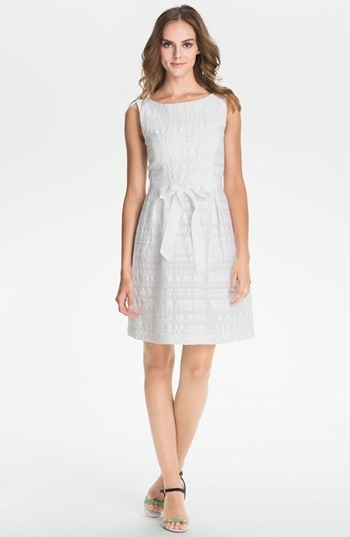 Trina Turk 'Fru Fru' Stripe Fit & Flare Dress