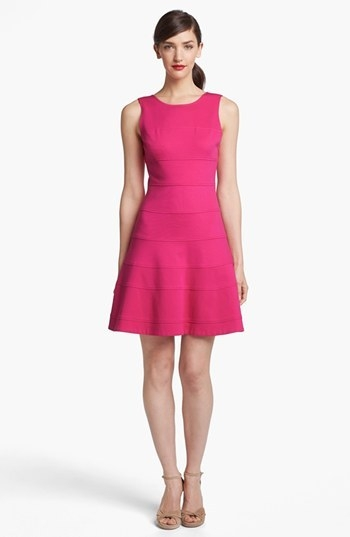 Trina Turk 'Nikola' Stretch Fit & Flare Dress