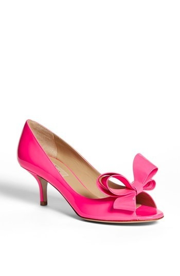 Valentino Couture Bow Pump