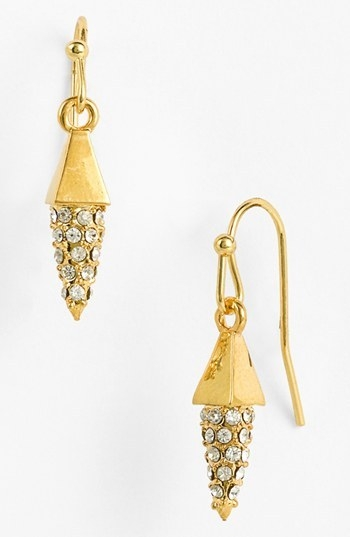 Vince Camuto 'Flights of Fantasy' Pave Cone Drop Earrings