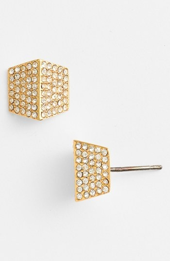 Vince Camuto 'Very Vince' Pave Stud Earrings