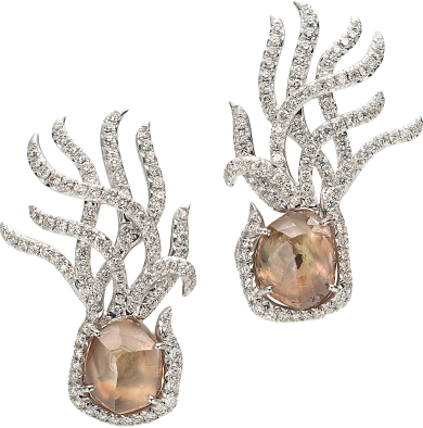 Coral & Crystal Exclusive Earclips SEW4006PDW8