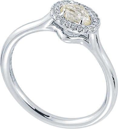 Grace Rough Diamond Engagement Ring