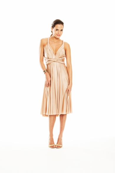 Twobirds Bridesmaid - Custom Color Short Straight
