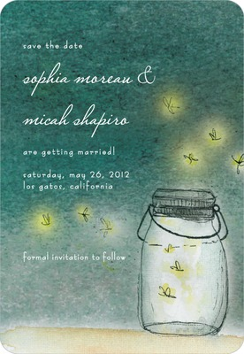 Simple Pleasures Save The Date Magnets Willow