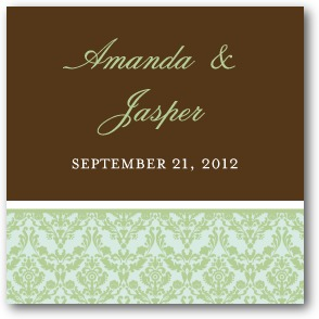 Exquisite Frame Personalized Gift Tag Stickers Juniper