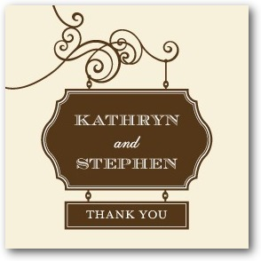 Wedding Sign Personalized Gift Tag Stickers Chocolate