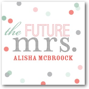 Future Title Personalized Gift Tag Stickers Basil