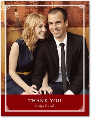 Vision Of Love Thank You Postcards Spanish Red