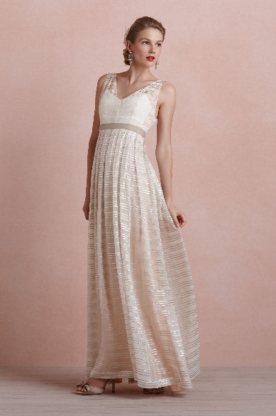 Golden Strata Dress