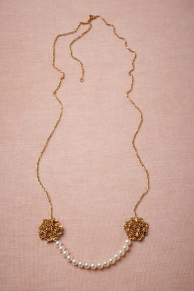 Twin Bouquets Necklace
