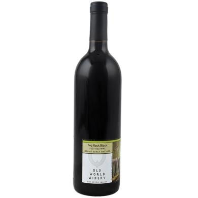 Cabernet Sauvignon / Petite Syrah Mounts Bench Vineyard 2007