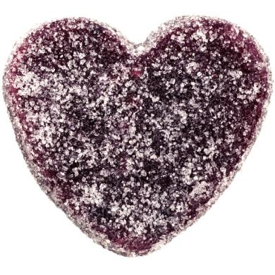 Raspberry Pâte de Fruit Heart