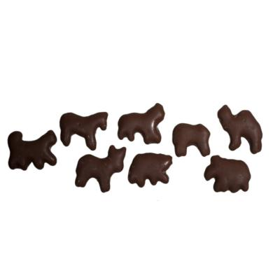 Milk Chocolate-Covered Animal Crackers