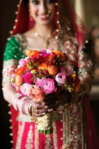 Photo Captured by Joseph Pascua Photography via South Asian Bride Magazine - Lover.ly - 웹