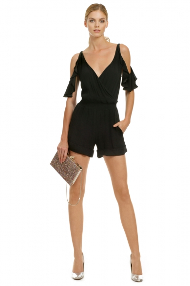 Back in Action Romper