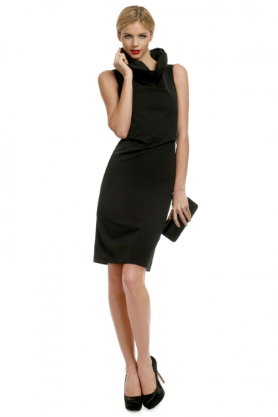Beyond Chic Collar Sheath