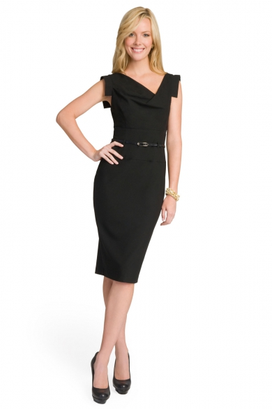 Black Jackie O Dress