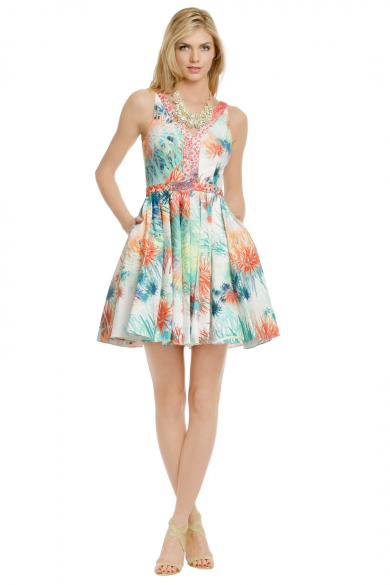 Coral Sea Urchin Dress