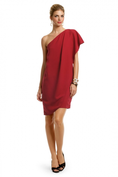Crimson Catwalk Dress