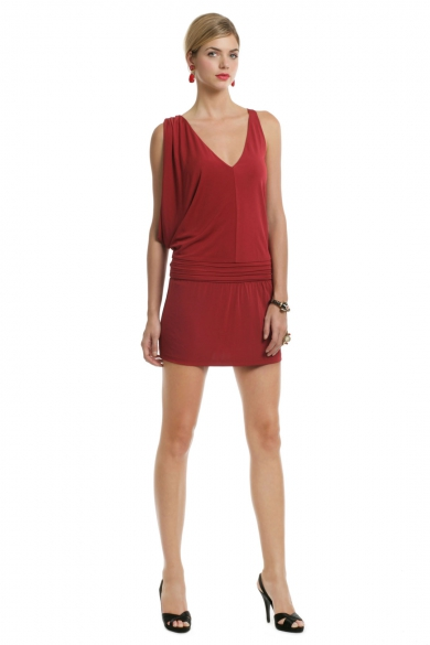 Crimson Crush Mini Dress