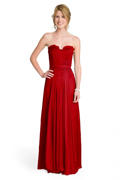 Crimson Princess Gown