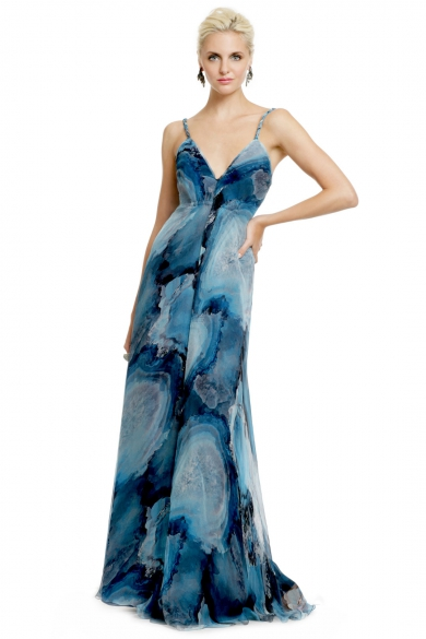 Deep Sea Storm Gown