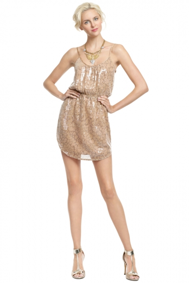 Desert Sequin Sun Dress