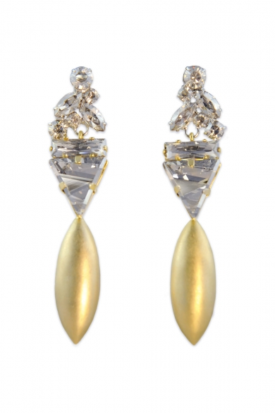 Drop of Gold Earrings