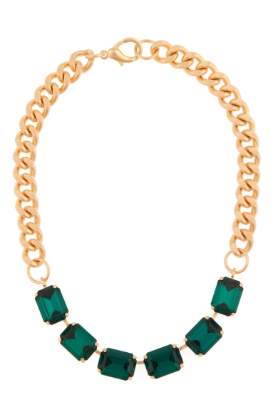 Envious Emerald Necklace