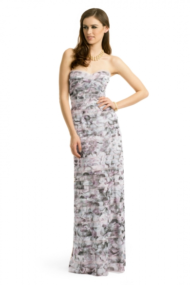 Feminine Floral Gown