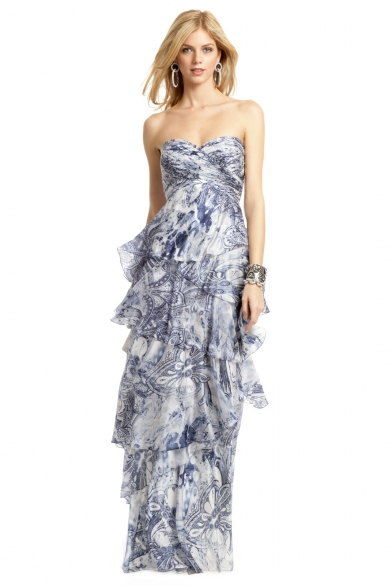 French Quarter Batik Gown