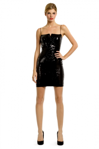 Futuristic Sequin Dress