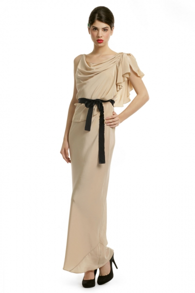 Gatsby Silk Soiree Gown