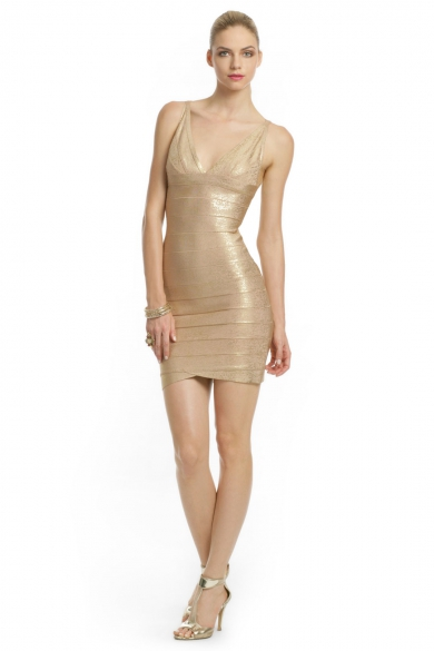 Golden Eye Dress