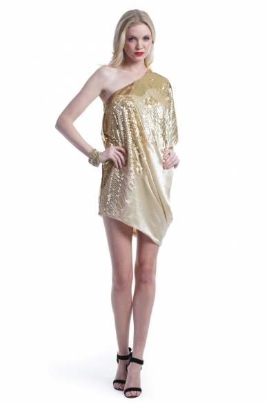 Golden Sparrow Dress