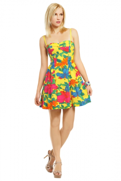 Hawaiian Escape Dress